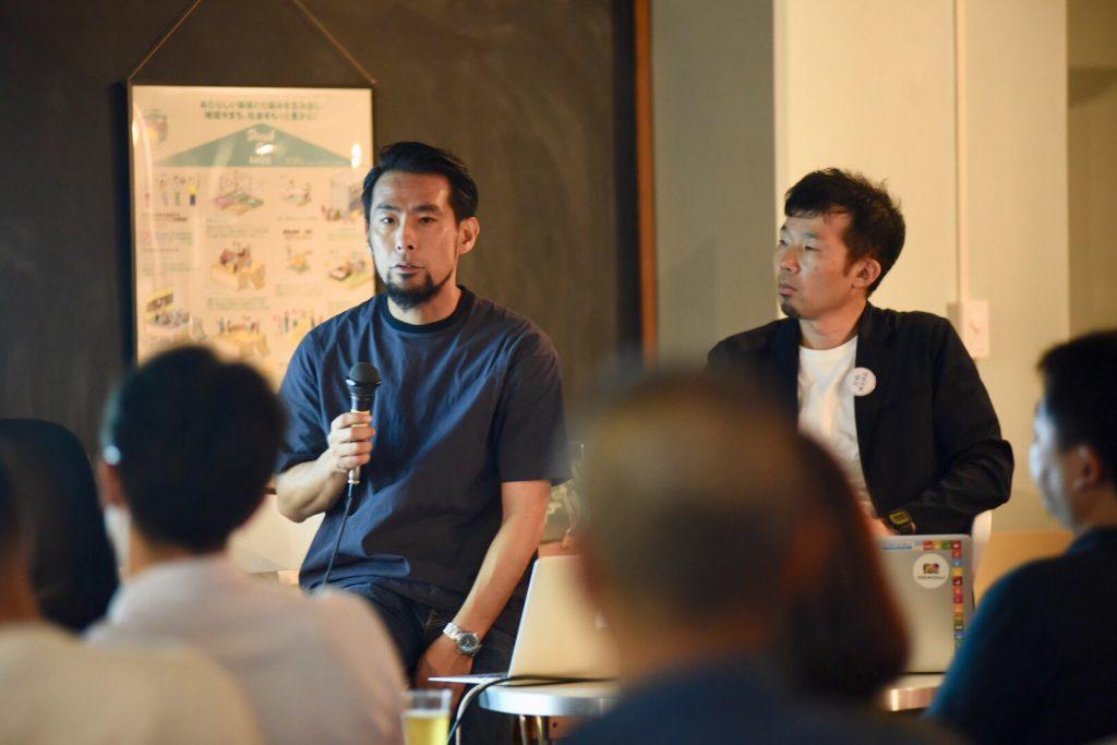 カヤックLivingパートナーマーケティングマネージャー名取がマスマスカフェ「これからの時代の移住学」で登壇